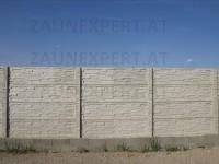 betonzaun aufbau von betonz228une betonzaun g252nstig inkl